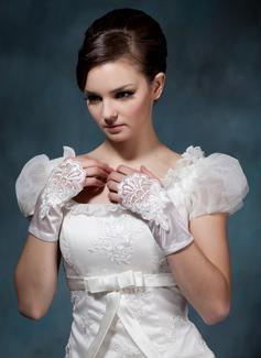 Elastic Satin Wrist Length Party/Fashion Gloves/Bridal Gloves