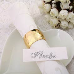 Shining Gold Napkin Rings