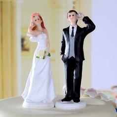 Jeune mariée et Marié Résine Mariage Décoration pour gâteaux