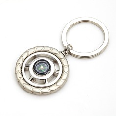 Compass Stainless Steel Keychains