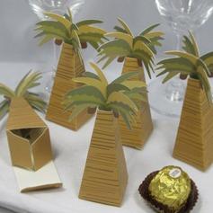Coco Árbol Diseño Cajas de regalos (Juego de 12)