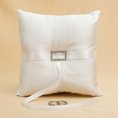 Lovely Ring Pillow With Rhinestones