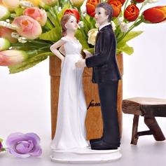 Bébé sur le chemin Résine Mariage Décoration pour gâteaux
