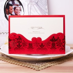 klassisk stil Wrap & Pocket Invitation Cards (Sats om 50)